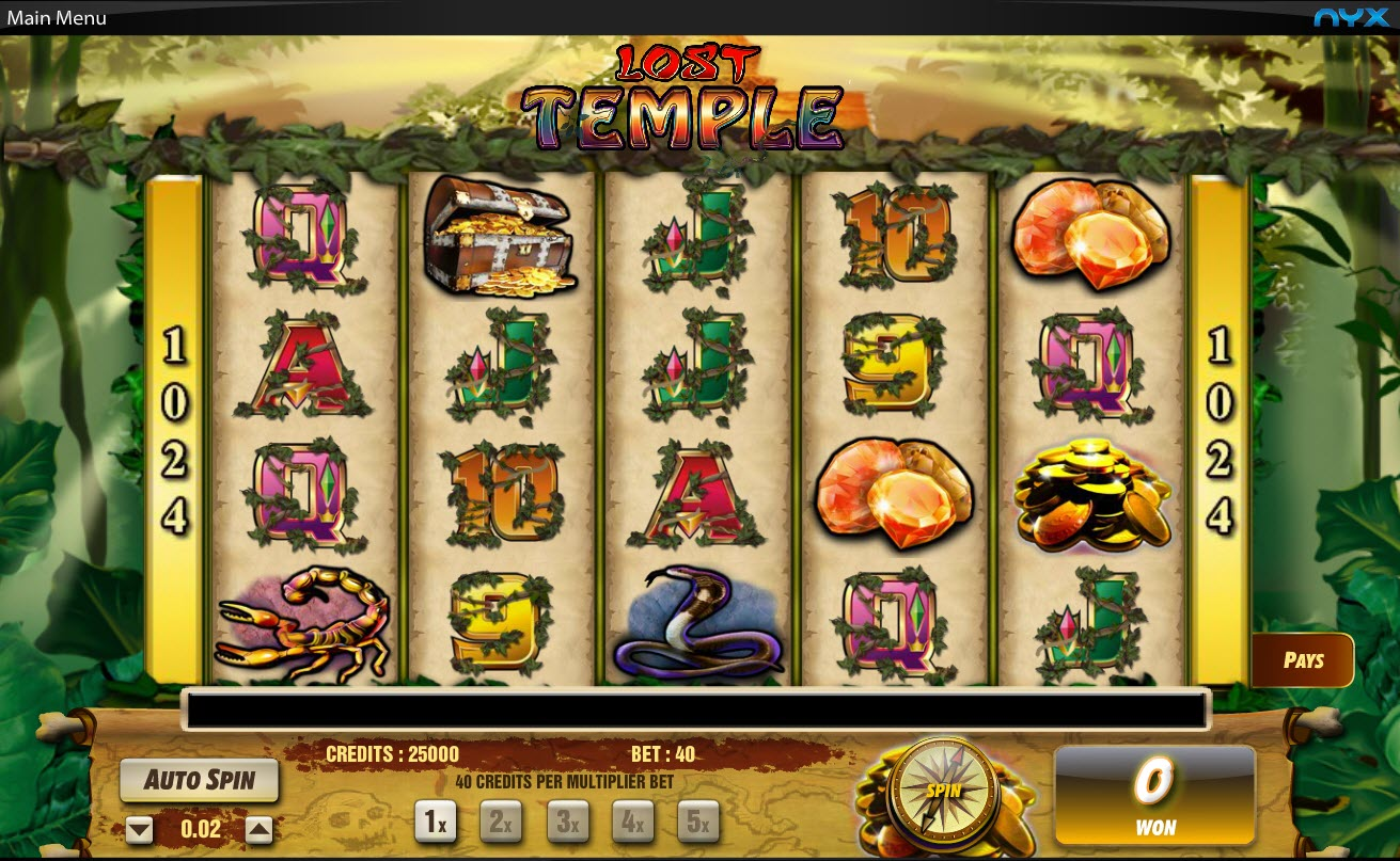 Lost Temple Online Slot